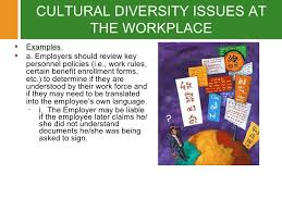 cultural issues in the workplace essay   essay for you    cultural issues in the workplace essay   image