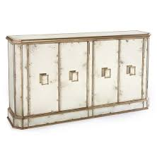 solange hollywood regency antique mirror silver 4 door sideboard buffet kathy kuo home antiqued mirrored doors view full size
