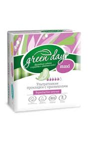<b>Прокладки GREEN DAY</b> Ultra maxi dry | Watsons