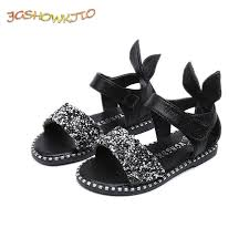 JGSHOWKITO <b>2019 Hot Sale Baby</b> Girl Sandals Fashion Bling ...