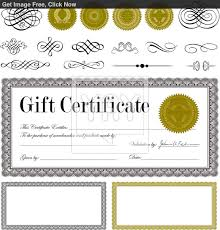 generic expense reportvector beautiful certificate templates  best photos of gift certificate templates fill in gift gift certificate