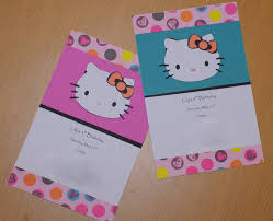excellent hello kitty party invitations to print birthday party 11 hello kitty party invitations to print birthday party dresses