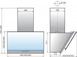Купить наклонную <b>вытяжку Elikor</b> (Эликор) <b>Рубин S4</b> 90П-700 ...