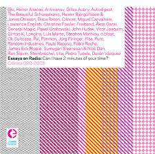 essays on radio can i have 2 minutes of your time crónica by various artists