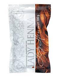 <b>Lady Henna</b> Хна для волос <b>натуральная</b> Коричневая, 100 г ...