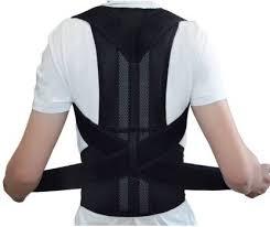 "Online World <b>Adjustable Back Posture</b> Corrector (Waist Size 28""-31 ..."