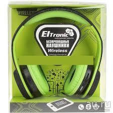 Беспроводные <b>Bluetooth наушники Eltronic Aux</b>/<b>FM</b>/<b>microSD</b> (4458 ...