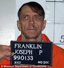 Death row: Joseph Paul Franklin remains on death row for the boys' murders - article-2358140-1AB566F6000005DC-40_306x325