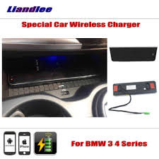 <b>Liandlee For BMW</b> 3 4 Series Special Car Wireless Charger Armrest ...