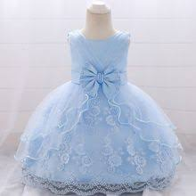 <b>MQATZ New Baby Girl</b> Baptism Dresses Appliques Blue Tulle ...