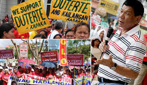 Image result for Duterte photos and supporters