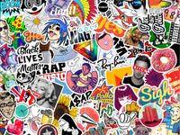 10 лучших изображений доски «Sticker <b>bomb</b>» | Не имеющий ...
