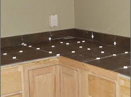 kitchen counter top tile