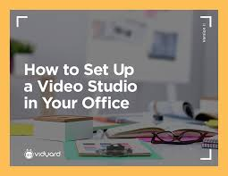 building a video studio within your own 4 walls build video studio
