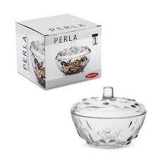 → <b>Сахарница PERLA Pasabahce</b> 97236 - 14 см, стекло, цена: 149 ...