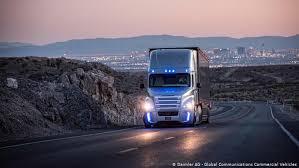 Daimler выпустит на автобаны <b>полуавтоматические</b> грузовики ...