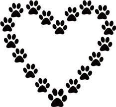 Image result for paw prints clip art