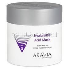 <b>Маска</b>-<b>крем</b> для лица Aravia Professional <b>Hyaluronic</b> Acid Mask ...