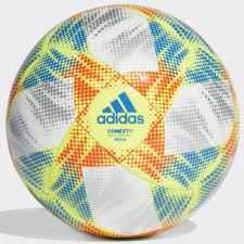 Купить <b>мяч</b> футбольный <b>adidas</b> dn8634 conext19 praia white ...