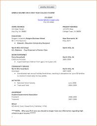 resume sample college  seangarrette cocollege student resume samples no experience
