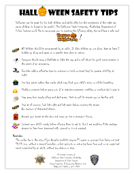 <b>Hall ween</b> Safety Tips