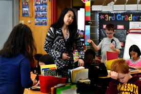 progress but no easy fix for minnesota s teacher shortage maria le a third grade teacher at central park elementary school in roseville works