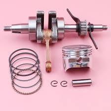 Crankshaft 39mm Piston Pin Ring Circlip Kit For Honda GX35 GX 35 ...