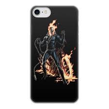 """Чехол для iPhone 7, объёмная печать """"<b>ПРИЗРАЧНЫЙ ГОНЩИК</b> ..."""