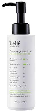 <b>Belif</b> очищающее <b>гель</b>-<b>масло</b> для лица <b>Cleansing gel oil</b> Enriched ...