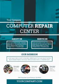 mobile phone service a promotional flyer premadevideos computer repair services a5 promotional flyer premadevideos com a5