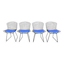 Mid-Century <b>Dining Chairs</b> by H. Bertoia for Knoll - Set of <b>4</b> - Image 1 ...