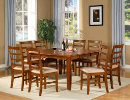 Formal Dining Room Sets For 8 9 Pc Square Dinette Gathering Dining Room Table And 8 Chairs 54