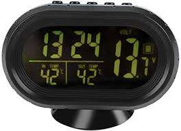 Car Auto <b>Digital Led Electronic</b> Time Clock <b>Thermometer</b> ...