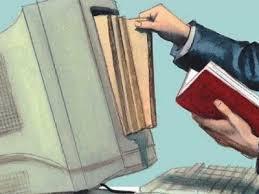 Resultado de imagen de libros vs tecnologia