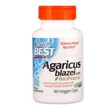 Doctor's Best, <b>Agaricus Blazei With Bioperine</b>, 90 Veggie Caps 180 ...