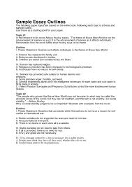 cover letter an example of an essay outline sample of an  cover letter an example of an essay outline sample resume ideas outlines for illustration xan example