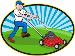 lawn care service clipart clipart kid lawn mower man gardener cartoon