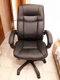Обзор от покупателя на <b>Кресло Tetchair OREON</b> кож/зам, черный ...