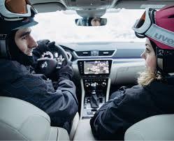 Зимний отдых на автомобиле <b>ŠKODA</b> Superb в Подмосковье ...