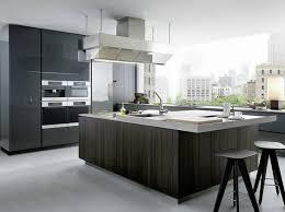 kitchen island integrated handles arthena varenna: lacquered wooden kitchen with island artex by varenna by poliform design paolo piva