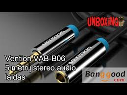 <b>Vention</b> VAB-B06 <b>3.5mm Jack</b> Male to Female <b>Audio</b> Extension ...