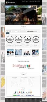 website design ecommerce website design website development it job portal