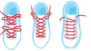 Houston podiatrist discusses alternate shoes lacing to stop foot pain