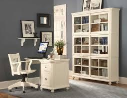 wondrous corner white home office design bookcases for home office