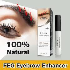 feg eyebrows eyelash enhancer original rising eyebrow growth serum long thicker cosmetics liquid tslm2