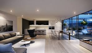 Living Dining Kitchen Room Design Dining Room From Entrance Design Ideas The Splendid Fabulous