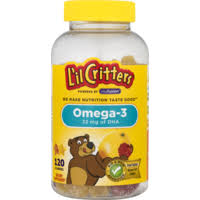 L'il Critters <b>Omega</b>-<b>3</b> EPA, DHA & ALA Gummies (<b>120</b> ct) - Instacart