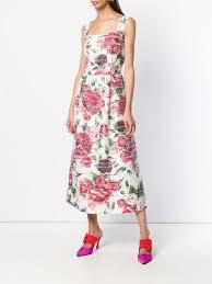 <b>Dolce</b> & <b>Gabbana Peony</b> Print Dress Aw18 | Farfetch.com