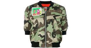 <b>Jeremy Scott</b> Укороченная <b>Куртка</b>-бомбер С Камуфляжным ...