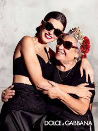 Рекламная кампания <b>очков Dolce & Gabbana</b> весна-лето 2015 с ...